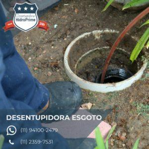desentupidora de esgoto na Vila Jaguará