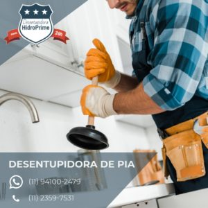 Desentupidora de Pia Chácara Miguel Badra